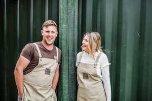 Steve and Kirsty of Fossil Food Catering